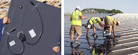 Couverture photovoltaique